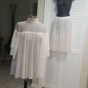 Victoria's Secret Dream Angels Tulle Top & Skirt